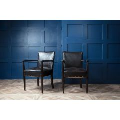 19th.C Louis XV Library Chairs