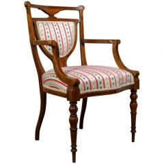 Edwardian Rosewood Armchair by Maple & Co, 1910