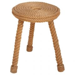 Rope Stool by Audoux-Minet