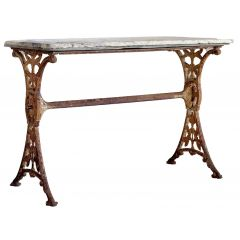 English Marble Top Table