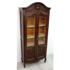 Provencal display cabinet