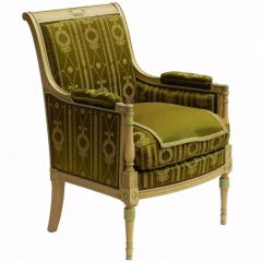 Early 20th Century Directoire Empire St Bergere Chair