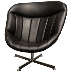 Vintage Swivel Chair by Rudolf Wolf for Rohé Noordwolde, 1960s