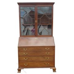 George III Bureau Bookcase of Large Proportions