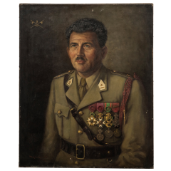 Military Man Portrait