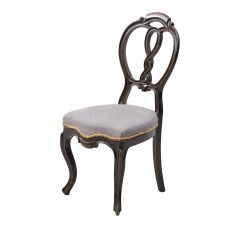 Rococo carved wood chair, 1900's