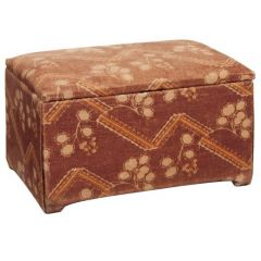 "Art Deco Ottoman From The ITV Set ""The Halcyon"""