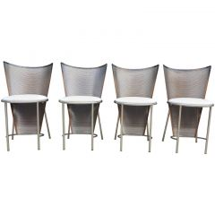 1990s Set Of Four Chairs By Frans Van Praet