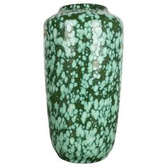 """Extra Large Floorvase Fat Lava """"517-38"""" Vase by Scheurich, Germany, 1970s"""