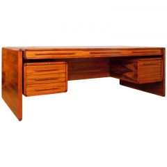 Danish Suspended Drawer Executive Desk