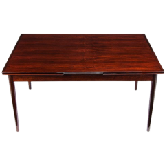 Mid Century Dining Table In Rosewood By A Danish Cabinetmaker, 1950'S