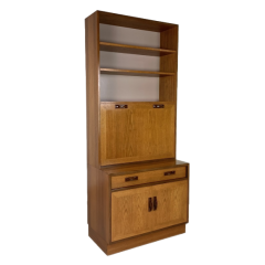 VINTAGE G PLAN WALL UNIT WITH DRINKS CABINET