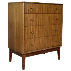 1950S Walnut Chest Of Drawers By Alfred Cox