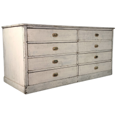 French Painted Chest Of Drawer