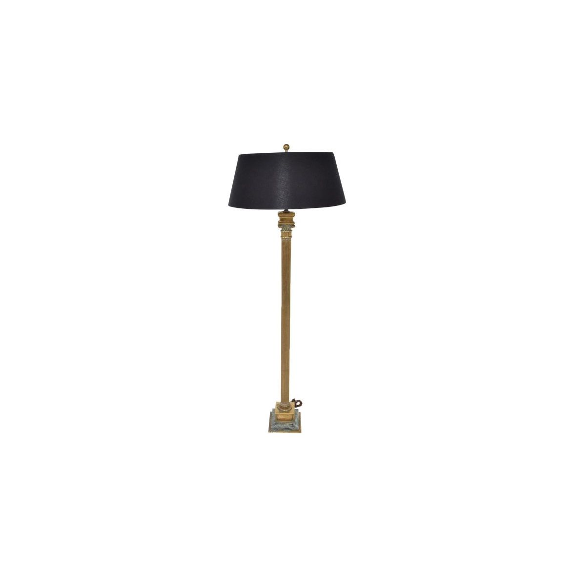Picture of: Mexican Modernist Neoclassical Roman Column Floor Lamp For Sale The Kairos Collective Uk