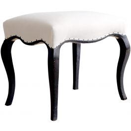Antique Ebonised Stool