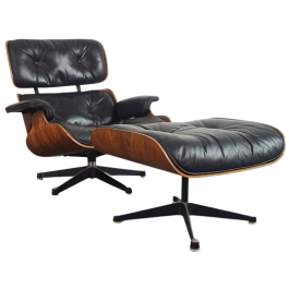 Herman Miller Lounger and Ottoman 670 / 671