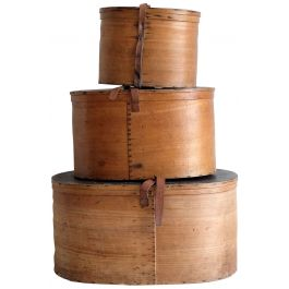 Bentwood Hat Boxes