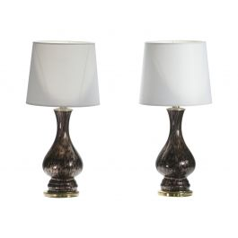 Pair of 1960s Murano Bedside Lamps by Vincenzo Nason
