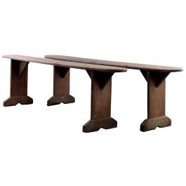 English Country Pine Benches