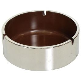 Mid-Century Modern Isamu Kenmochi Ashtray, Chrome and Plastic