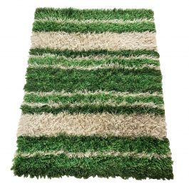Large Multicolor Scandinavian High Pile Rya Rug by Tabergs, Sweden 1970s