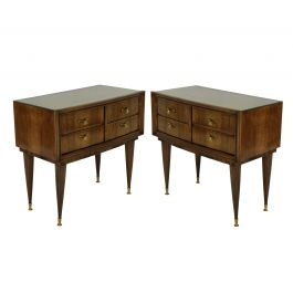 A Pair Of Italian Mid Century Night Stands
