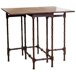 A George Iii Mahogany Spider Leg Table