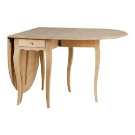 Rococo Folding Drop Leaf Table - 01