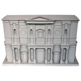 Grand Tour' Architectural Model of the 'Basilica San Lorenzo' by Michelangelo
