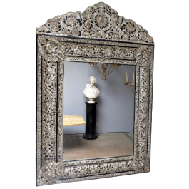 LARGE EARLY 20THC REPOUSSE MIRROR