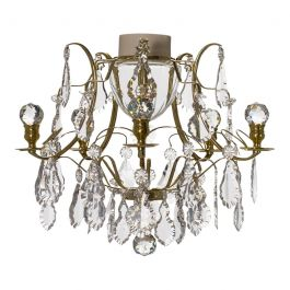 Brass Bathroom Chandelier 04