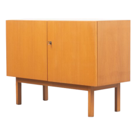 Minimalist 1960s sideboard in ashwood