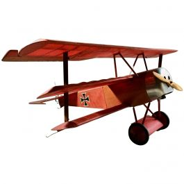 Details about Stunning Fokker Dr.1 Triplane Red Baron WW1 Aeroplane Model Plane