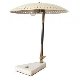 Midcentury Italian Table Lamp Desk Light Sarfatti Arteluce Stilnovo, 1950s