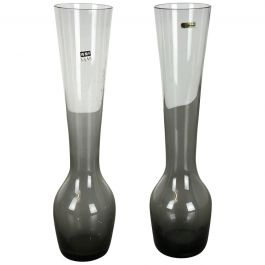 Vintage 1960s Set of 2 Turmalin Vases by Wilhelm Wagenfeld for WMF, Germany
