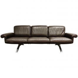 De Sede DS31 Sofa in Brown Leather, 1970s