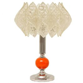 Acrylic Lotus Table Lamp