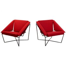 Van Speyk Easy Chairs by Rob Eckhardt, 1985, Set of 2