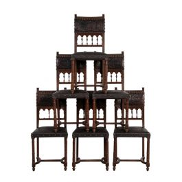 Set of Castle Chairs
