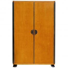 Bauhaus Tubular Steel Cabinet from Vichr a Spol., 1930s