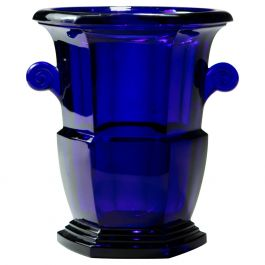 19th Century Bristol Blue Ice Bucket