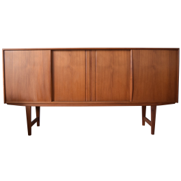 Mid-Century Danish Teak Rosewood Sideboard by E.W. Bach for Sejlingskabe, 1960s
