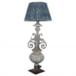 19th Century Architectural Fragment Adapted into a Zinc Lamp