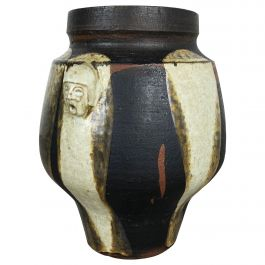 Abstract Ceramic Studio Pottery Vase
