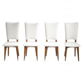 Set of 8 Midcentury Scandinavian Danish Teak Chairs, 1960s