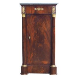 French Empire Cuban Mahogany