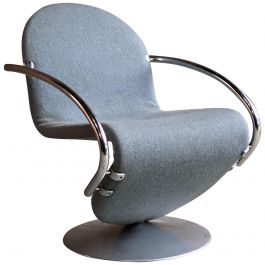 Verner Panton System 1 23 Easy Chair for Fritz Hansen, Denmark, circa 1974