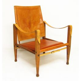 1960s Danish Safari Chair by Kaare Klint