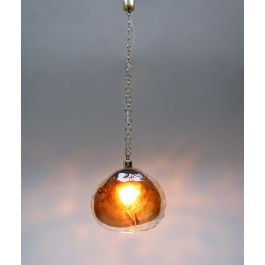 Amber Petal Pendant Light in Murano Glass by Kaiser Leuchten
